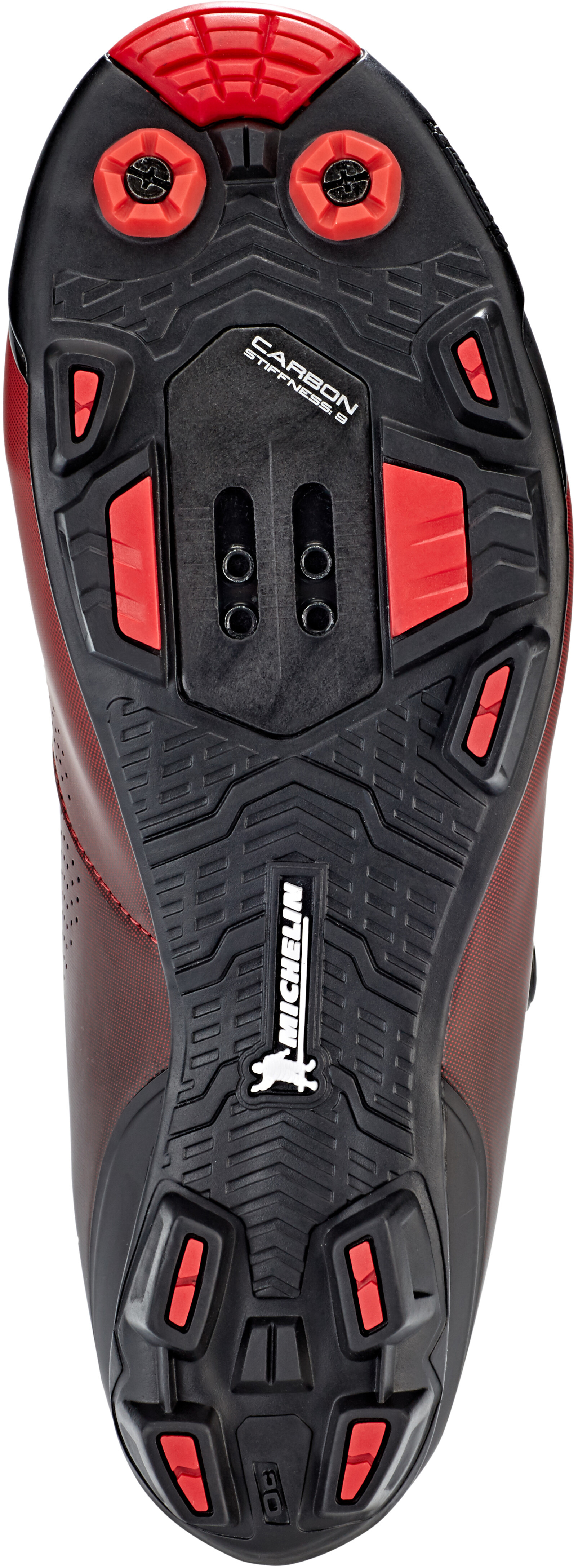 e3b5d48ec70dd9 Shimano SH-XC701 Shoes red at Bikester.co.uk
